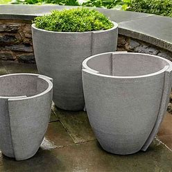 Concept Planter, Small, Graystone
