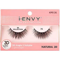 Kiss I ENVY 3D Collection 26 Natural 3D Eyelashes KPEI26
