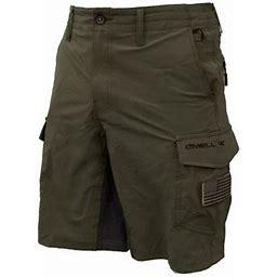 O'neill GI Jack Traveler Mens Hybrid Cargo Boardshorts, Men's, Size: 35, Green