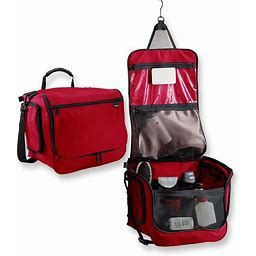 Hanging Toiletry Bag, Travel Organizer, Family Size Red | L.L.Bean