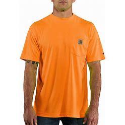 Carhartt Force Color Enhanced Short-Sleeve T-Shirt | Brite Orange | 4XL
