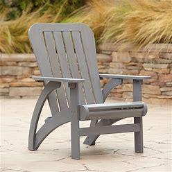 Dylan Gray Wash Wood Adirondack Chair - Style 79R13