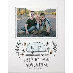 Premium Posters: Let's Go On An Adventure Premium Poster, Blue