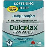 Dulcolax Stool Softener Liqgel 50Ea