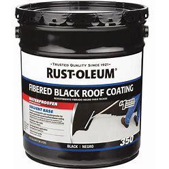 Rust-Oleum Roof Coating And Waterproofer,4.75 Gal Model: 301999