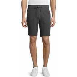 Russell Men's And Big Men's Active Textured Shorts, Up To Size 3XL, Size: Large, Gray