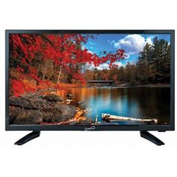 22 Inch Class 1920x1080p LED Widescreen Hdtv Ac/dc Compatible With RVs And Boats, Black