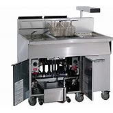 Imperial IFSCB-250T-NG Natural Gas Stainless Steel Fryer - 525,000 BTU