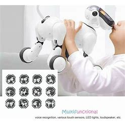 Wireless Remote Control Smart Dog Electronic Pet Educational Toy Robot Birthday