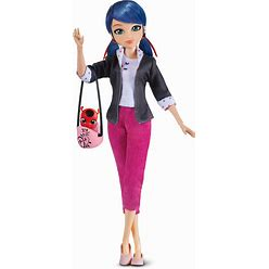 Miraculous: Tales Of Ladybug & Cat Noir - Marinette 26cm Fashion Doll With Accessories (Bandai)