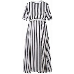 Richie House Women's Summer Striped Dress S Rhw2502, Size: Small