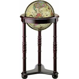 Lancaster Illuminated Floor Globe By Replogle Globes