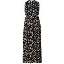 Richie House Women's Long Style Summer Dress XS Rhw2500, Size: Small, Black