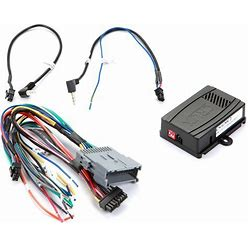 Crux CS-GMC2 Wiring Interface Connect A New Car Stereo And Retain Steering Wheel Controls And Factory Amp In Select 2000-2013 GM-Made Vehicles