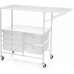 Essex Rolling Cart By Recollections™ In White | Michaels®