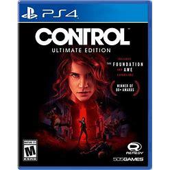 Control Ultimate Edition   PS4 Games   505 Games   Gamestop