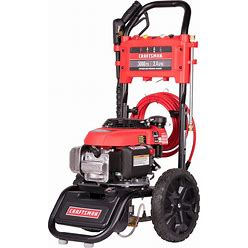 CRAFTSMAN 3000-PSI 2.4-GPM Cold Water Gas Pressure Washer With Honda CARB In Black   CMXGWFN061146