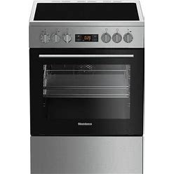 """BERU24102SS 24"""" Electric Range With 4 Elements 2.51 Cu. Ft. Oven Capacity Convection Storage Drawer Easy Clean Enamel Finish Residual Heat Indicators In Stainless"""