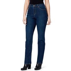 Women's Gloria Vanderbilt Amanda Classic High-Waist Tapered Jeans, Size: 16 T/Large, Med Blue