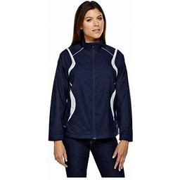 Ash City North End North End Venture Ladies Mini Ottoman Lightweight Jacket, Style 78167, Women's, Size: 2XL, Blue