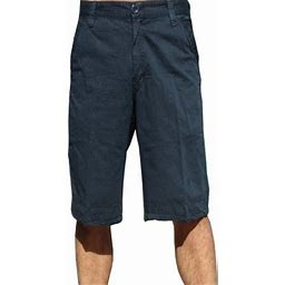 Stone Touch Jeans Stonetouch Mens Cotton Twil Chino Shorts 5fk Navy-34, Men's, Blue