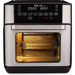 Instant Vortex Pro 9-In-1 Air Fryer Oven, Air Fryer, Roaster, Broiler, Bake, Toaster, Reheat, Dehydrator, 10 Quart Stainless Steel