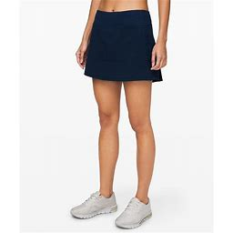 Lululemon Women's Running Skirts - Pace Rival Skirt (Tall) - Swift - Navy - Size 4