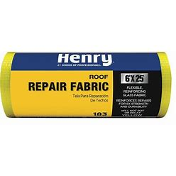 Henry Roof Repair Fabric,4 In X 150 Ft/Roll Model: HE183196