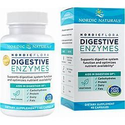 Digestive Enzymes Supports Digestive System Function (45 Capsules)