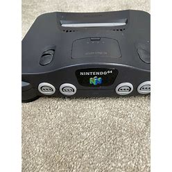 Nintendo 64 Console With Hookups And 1 Controller