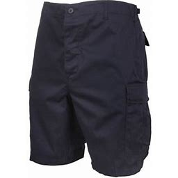 Rothco Men's Tactical Solid BDU Combat Shorts - Midnight Navy - 2XLarge, Midnight Navy Blue, 2XLarge