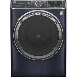 GE Ultrafresh Vent System 5-Cu Ft Stackable Steam Cycle Front-Load Washer (Sapphire Blue) ENERGY STAR | GFW850SPNRS
