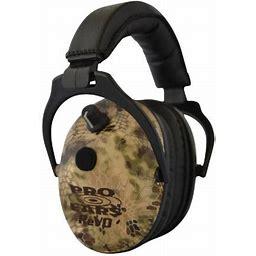 Pro Ears Er300hi ReVo Electronic Ear Muff 25 DB Kryptek Highlander, Women's, Size: Standard
