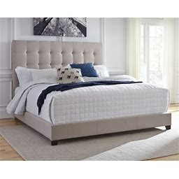Dolante Queen Upholstered Bed. On Sale - 23% Off!, Beige By Ashley Homestore Furniture > Bedroom > Beds > Queen
