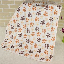 Extra Softness And Fluffy Lightweight Microplush Fleece Throw Blanket For Small, Medium Dogs, Puppies, Cats And Kittens, All Season Machine Washable