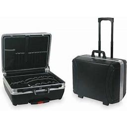 Westward 2Wlk1 Tool Case,38 Pockets,Hdpe