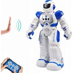 Remote Control Robot For Kids ,Sikaye Intelligent Programmable Robot With Infrared Controller Toys,Dancing,Singing, Moonwalking And LED Eyes,Gesture