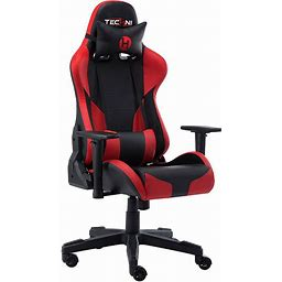 Techni Sport Red TS-90 Office-PC Gaming Chair