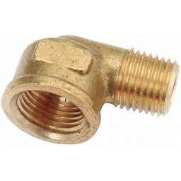 Zoro Select 706228-0608 Reducing Street Elbow, Ll Brass, 1000 Psi