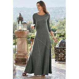 Women's Soft Surroundings Talls Ryley Dress In Luxe Black Size TS (...