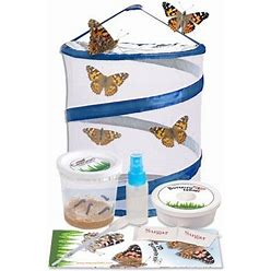 Butterfly Kit Shipped With Free Certificate To Redeem For 5 Live Caterpillars,12 Inch Pop Up Cage And Supplies, Women's, Size: One Size