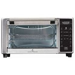 Emeril Lagasse Power Airfryer 360 Plus, Toaster Oven Size: 9.50 Inch Large X 19 Inch W X 15 Inch H, Silver