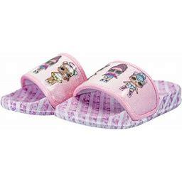 L.O.L Surprise! Lol Surprise Shoes Slides Sandals (Little Kid/Big Kid), Girl's, Size: 2/3, Pink