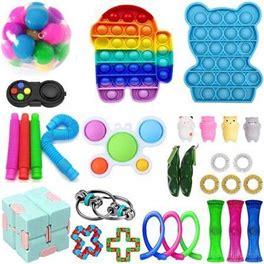 Fidget Sensory Toys Set Kids Adults Stress Relief Anti-Anxiety Tools