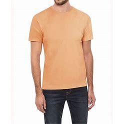 Men's Basic Crew Neck Short Sleeve T-Shirt - Cantaloupe