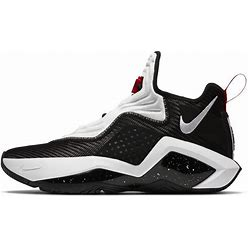 Nike Lebron Soldier 14 Basketball Shoes In Black/University Red, Size: 8 | CK6024-002