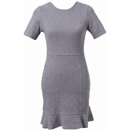 Richie House Women's Slim Elegant Dress Rhw2116, Size: Medium, Gray