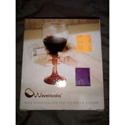 Bathtub Wine Glass Holder Sucton Cups By Wavehooks