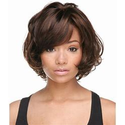 Durable Auburn Bob African American Black Women Wavy Bobs