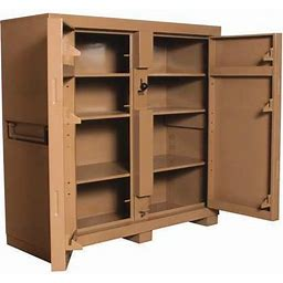 60 In X 60 In X 24 In Jobsite Storage Cabinet, Knaack 109